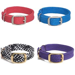 Mendota Doublebraided Easy Fit Dog Collar