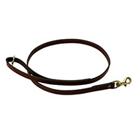 Mendota Leather Clip Leads