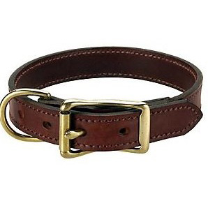 Men Leather Wide Collar