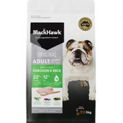 Black Hawk Low Energy Dog Food Chicken and Rice