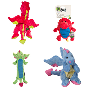 Dragons Go Dog Toys