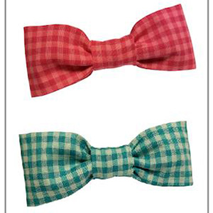 Organic Cotton Bowtie Pet Collar Accessory