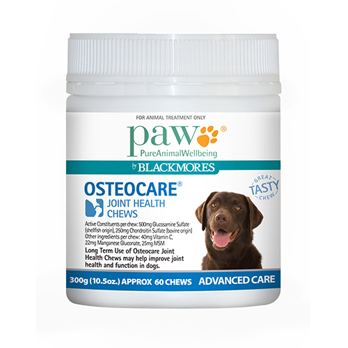 Blackmores Paw Osteocare Joint Health Chews